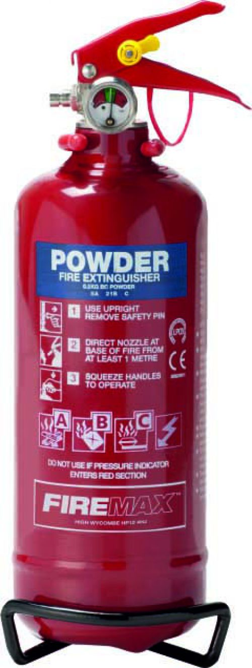 Spectrum Industrial Fire Extinguisher ABC Powder 600g 14364