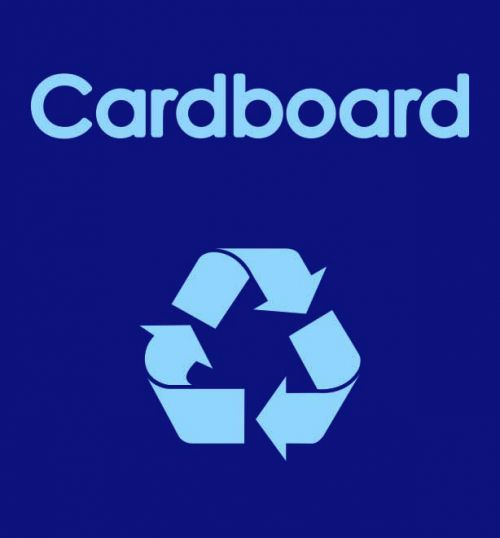 Cardboard Warehouse Recycling Sack designed to fit most racking systems. Manufactured from durable waterproof polyester, with three strong handles.