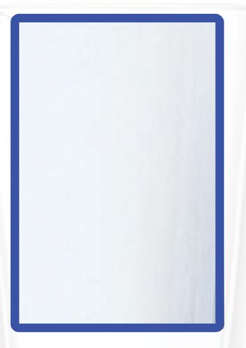 A3 Magnetic Document Frame -Blue (Pack of 10)