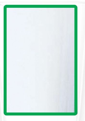 A3 Magnetic Document Frame - Green (Pack of 10)