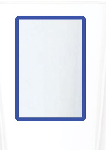 A4 Magnetic Document Frame - Blue (Pack of 10)