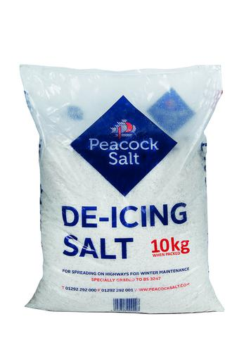 De-Icing Salt 30 x 10kg Bag on Pallet