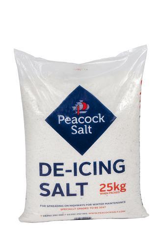 De-Icing Salt 21 x 25kg Bag on Pallet