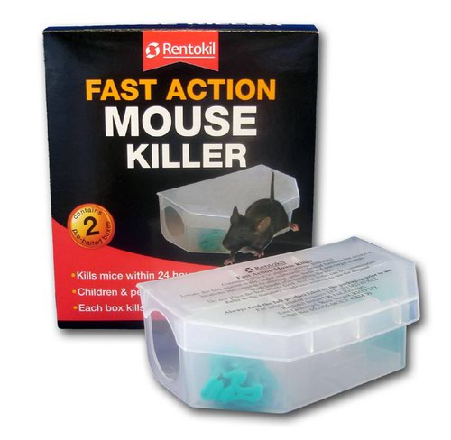 Rentokil Fast Action Mouse Killer (Twin pack)
