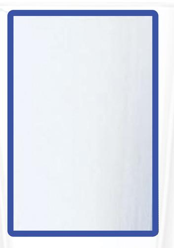 Magnetic A3 4 Document Frame - Blue