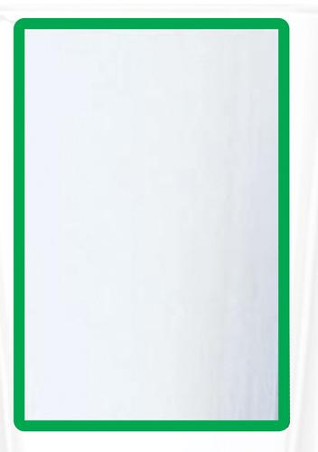 Magnetic A3 4 Document Frame - Green