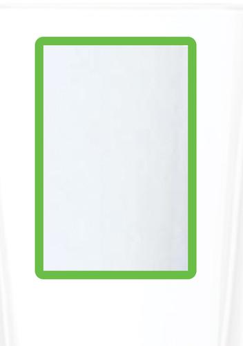 Magnetic A4 4 Document Frame - Green