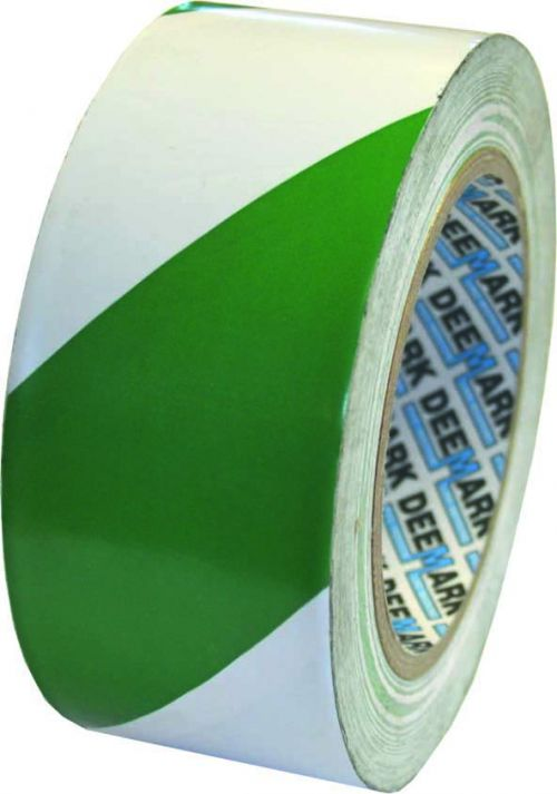 Adhesive PVC tape ideal for highlighting hazards and internal marking procedures.