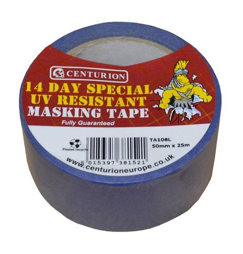 50mm x 25m UV Resistant Masking Tape