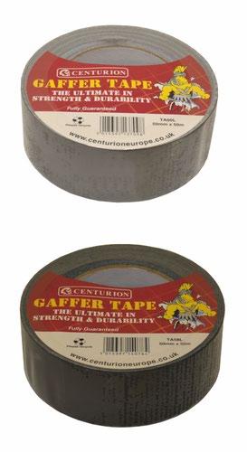 50mm x 10m Industrial Cloth Tape  Silver/Grey