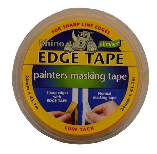 Yellow Edge Masking Tape 24mm x 41.1m