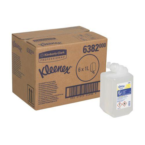 Kleenex Moisturising Gel Hand Sanitiser 1 Litre Ref 6382