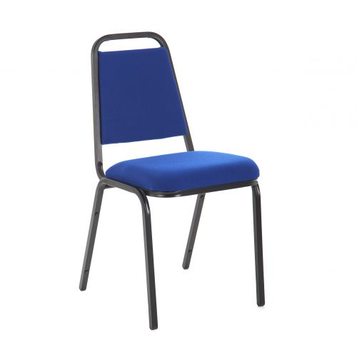 Trexus Banquet Chair Blue/Black Frame 390x355x485mm Ref 56801
