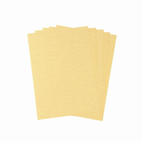 Parchment Letterhead and Presentation Paper 95gsm A4 Gold [100 Sheets]