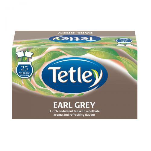 Tetley Tea Bags Earl Grey Drawstring in Envelope Ref 1277 [Pack 25]