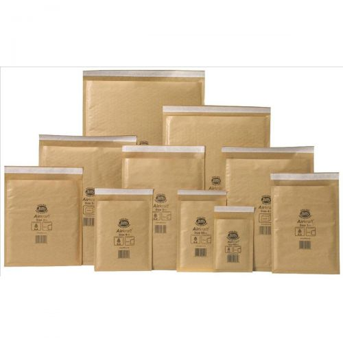 5 Star Bubble Bags Peel and Seal No.4 Gold 240x320mm Pack 50