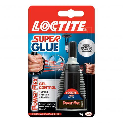 Loctite Super Glue Power Flex Gel Control 3g Ref 1621077