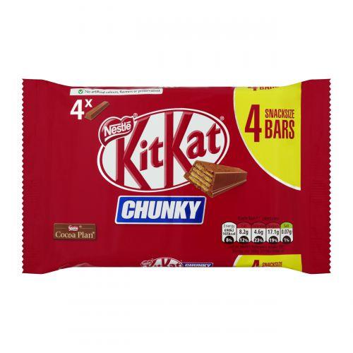 Nestle Kit Kat Chunky Ref 12405884 [Pack 4]