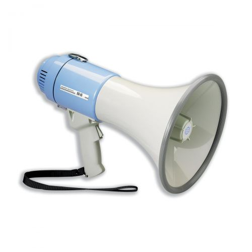 Power Megaphone Hand-held Battery Operated with Volume Control Ref IVGSMEPH