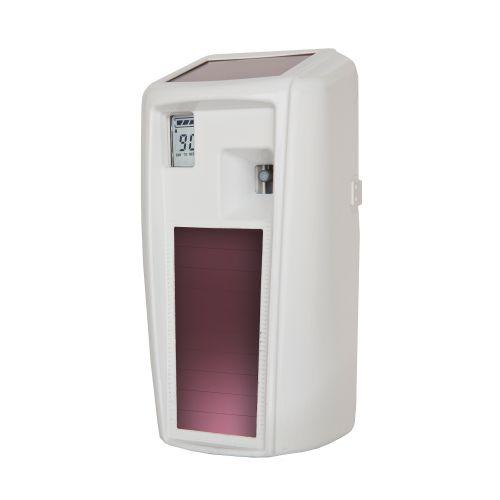 Rubbermaid Microburst 3000 LumeCel Air Freshener Dispenser Light-powered White Ref 1955229