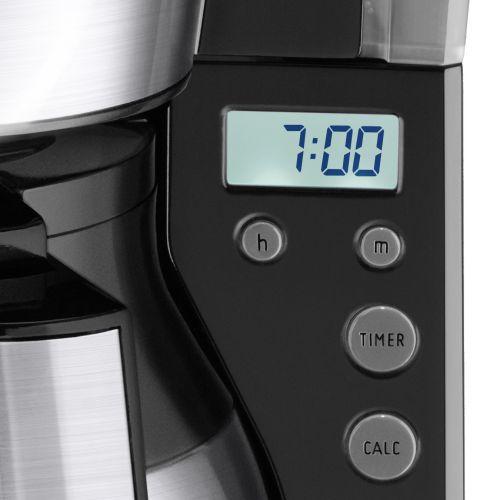 Melitta Therm Timer Coffee Machine Blackstainless Steel Ref 6764395