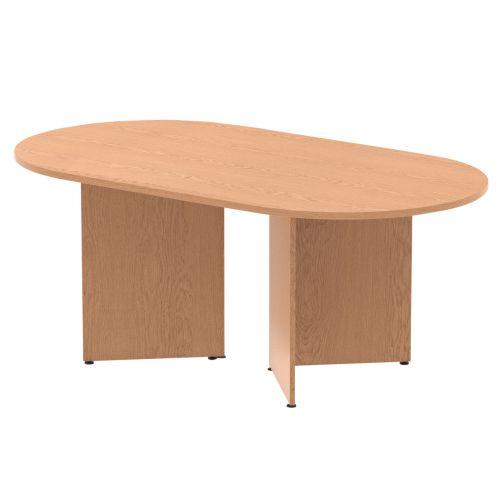 Trexus Boardroom Table 1800x1200x730mm Arrowhead Oak Ref MI002974