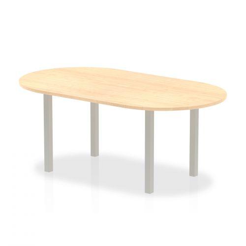 Trexus Boardroom Table 1800x1200x730mm Maple Ref I000263