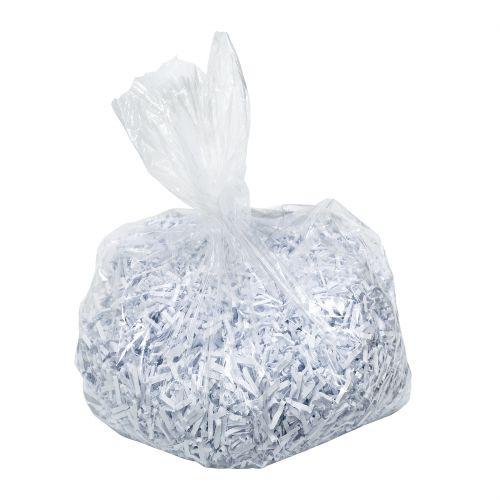 Leitz Waste Bag for IQ Shredder 40 Litre Ref 80080000 [Pack 100]