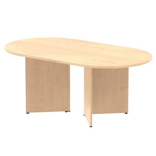 Trexus Boardroom Table 1800x1200x730mm Arrowhead Maple Ref MI002959