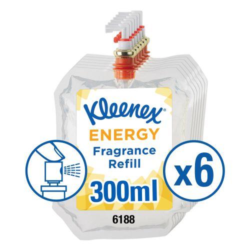 Kleenex Botanics Botanics Aircare Energy Refill 300ml Ref 6188 [Pack 6]