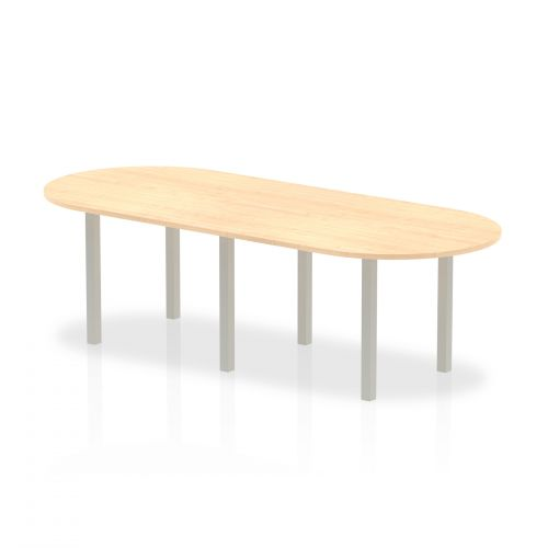 Trexus Boardroom Table 2400x1200x730mm Maple Ref I000264