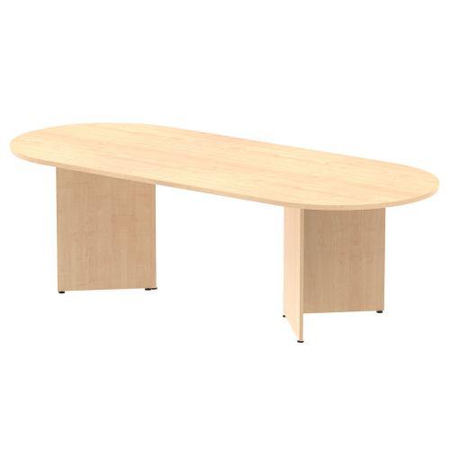 Trexus Boardroom Table 2400x1200x730mm Arrowhead Maple Ref MI002962