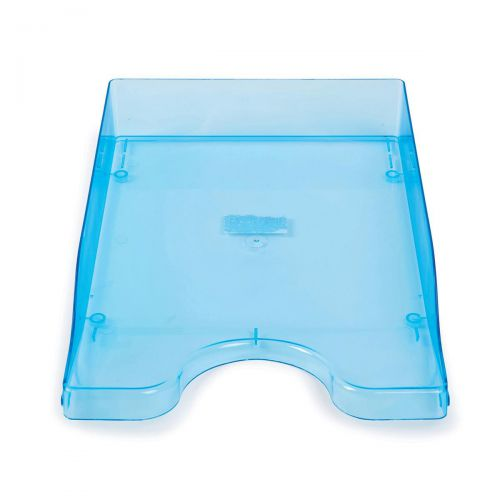 10 Stacking In//Out Filing Letter Tray Black NEW 295829