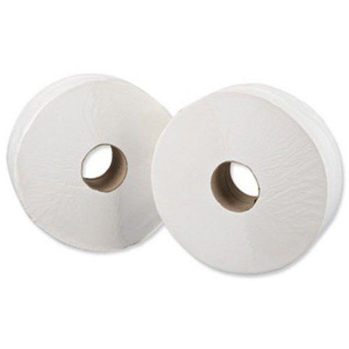 Maxima Mini Jumbo Toilet Roll 400x90mm 2-Ply 200m White Ref 1102008 [Pack 12]