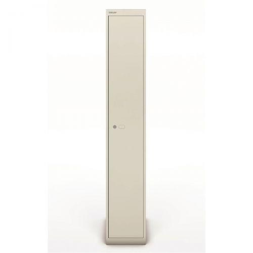 Bisley Locker 1 Door Goose Grey 457d Ref CLK181-av4