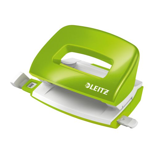 Leitz NeXXt WOW 5008 Hole Punch 2-Hole Capacity 30 sheets Green Ref 50081054 [REDEMPTION] Apr-Jun20