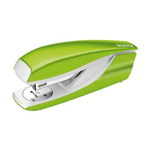 Leitz NeXXt WOW Stapler Half Strip Metal 30 sheet Green Ref 55021054 [REDEMPTION] Apr-Jun20
