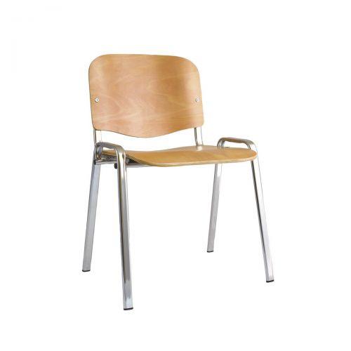 Trexus Wooden Stacking Chair Beech 470x420x450mm Ref BR000066