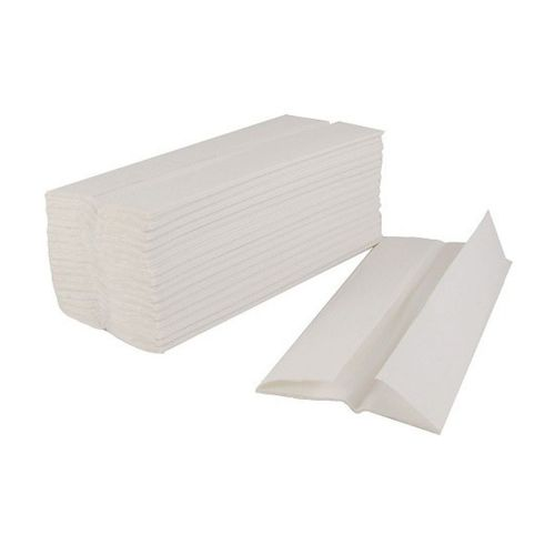 Flushable Hand Towel C-Fold 2-Ply 100 Towels Per Sleeve White Ref 1104015 [Pack 24]