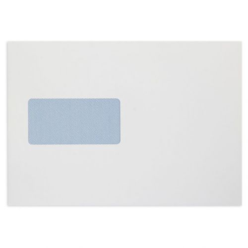 Blake Premium Office Envelopes Pocket P&S Window 120gsm C5 Ultra White Wove Ref 34116 [Pack 500]