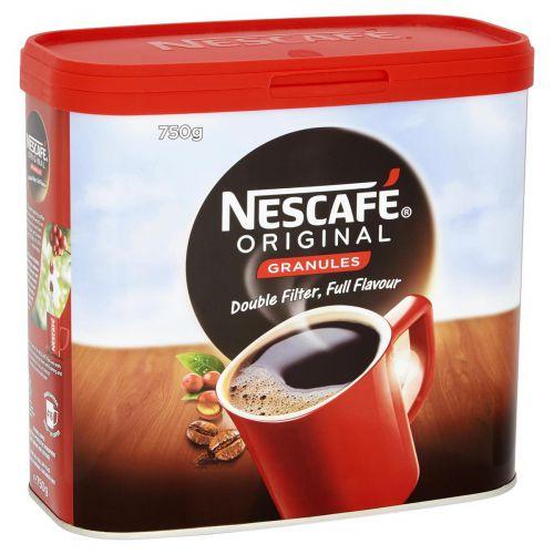 Nescafe Original Instant Coffee Granules Tin 750g Ref 12079880 [Promotion Price]