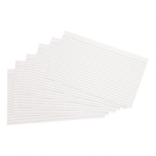 5 Star Record Cards 203x127mm Pk B223100