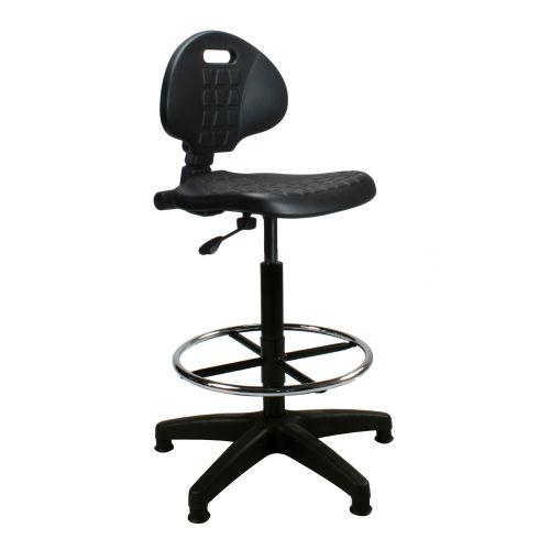 Trexus Lab High Chair Gas Lift Back H310mm Seat W460xD430xH590 720mm Black Ref 564321
