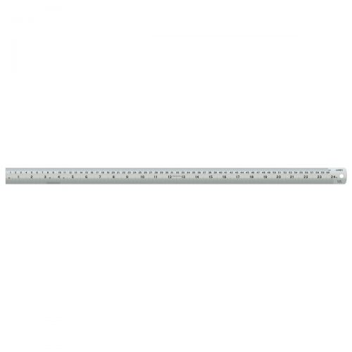 Linex Ruler Stainless Steel Imperial and Metric with Conversion Table ...