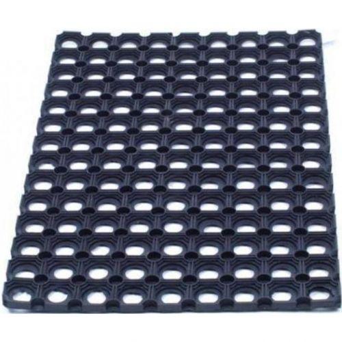 Doortex Octomat Door Mat Indoor And Outdoor Rubber 800x1200mm Black Ref  FC481222OCBK