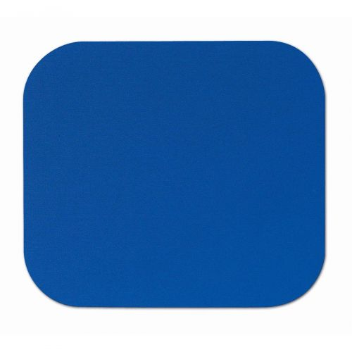 Fellowes Mousepad Solid Colour Blue Ref 58021-06