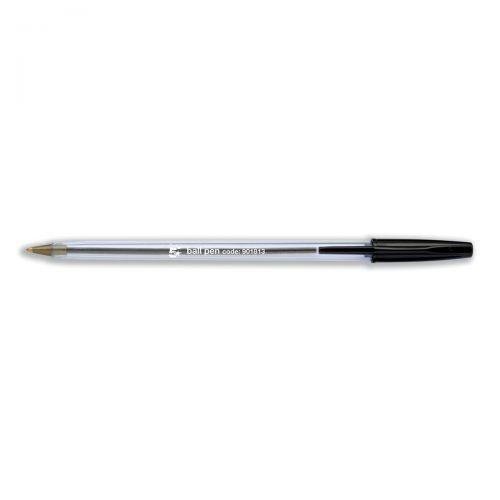 5 Star Elite Rubber Grip Ball Pen 1.0mm Tip 0.5mm Line Blue Pack 12