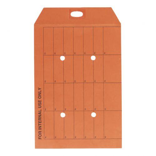 5 Star Office Envelopes Internal Mail Pocket Resealable 120gsm C4 324x229mm Manilla Orange [Pack 250]
