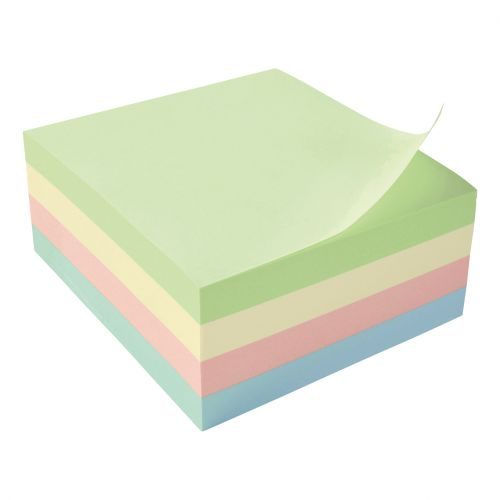 5 Star Re-Move Note Cube 3x3 Pastel