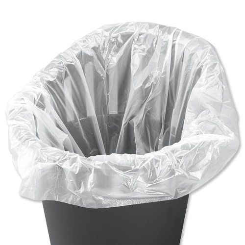 5 Star Facilities Swing Bin Liners Light Duty 40 Litre Capacity W310/505xH710mm White [Pack 1000]